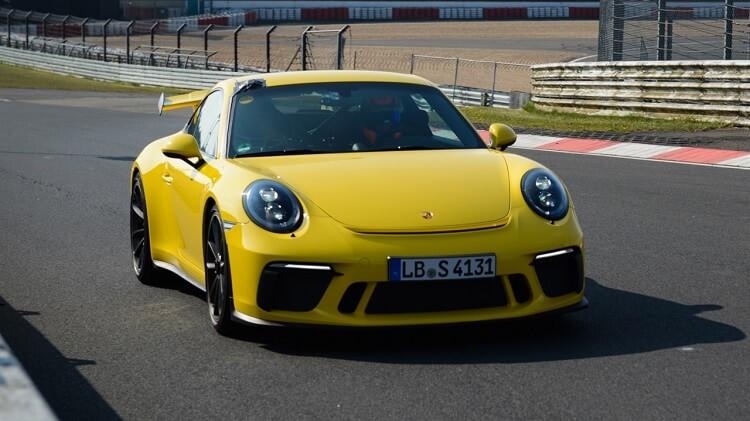 Porsche-991.2-GT3-Nordschleife-lap