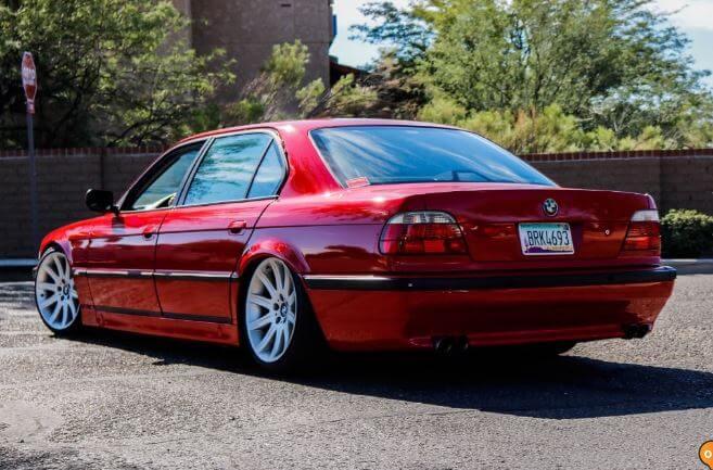 Slammed VIP BMW E38 740il