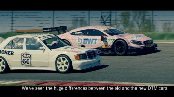 190E 2.5-16 Evolution II vs C63 AMG DTM