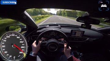 Audi RS6 Performance naar 312 kmh