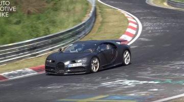 Bugatti Chiron Nordschleife