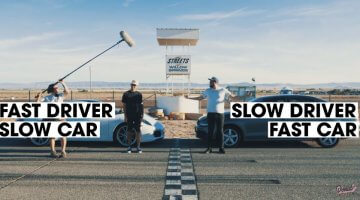 Fast Driver, Slow Car vs Slow Driver, Fast Car