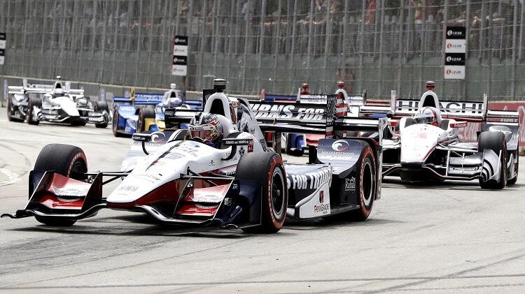 IndyCar Detroit Highlights 2017