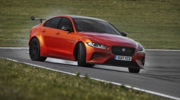 Jaguar XE SV Project 8 is een extreme sportsedan