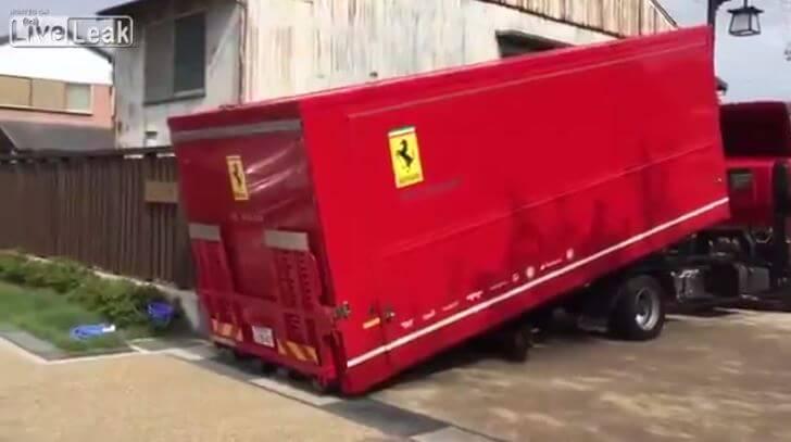 Ferrari 458 Container