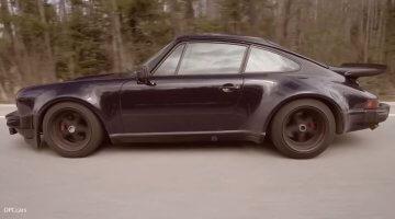 Miljoen km Porsche 930 Turbo