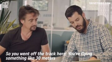 Richard Hammond praat over crash