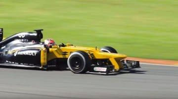 Robert Kubica F1 Test