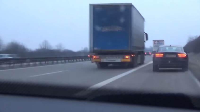 Audi A5 Achtervolging