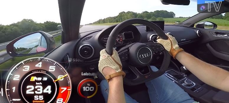 Audi RS3 Top Speed