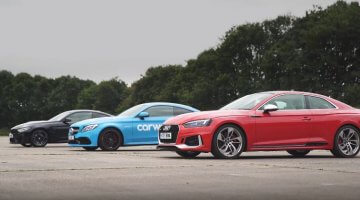 Audi RS5 vs BMW M4 vs Mercedes C63 S