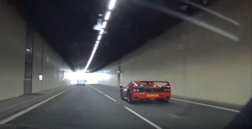 Ferrari F50 V12 Tunnels