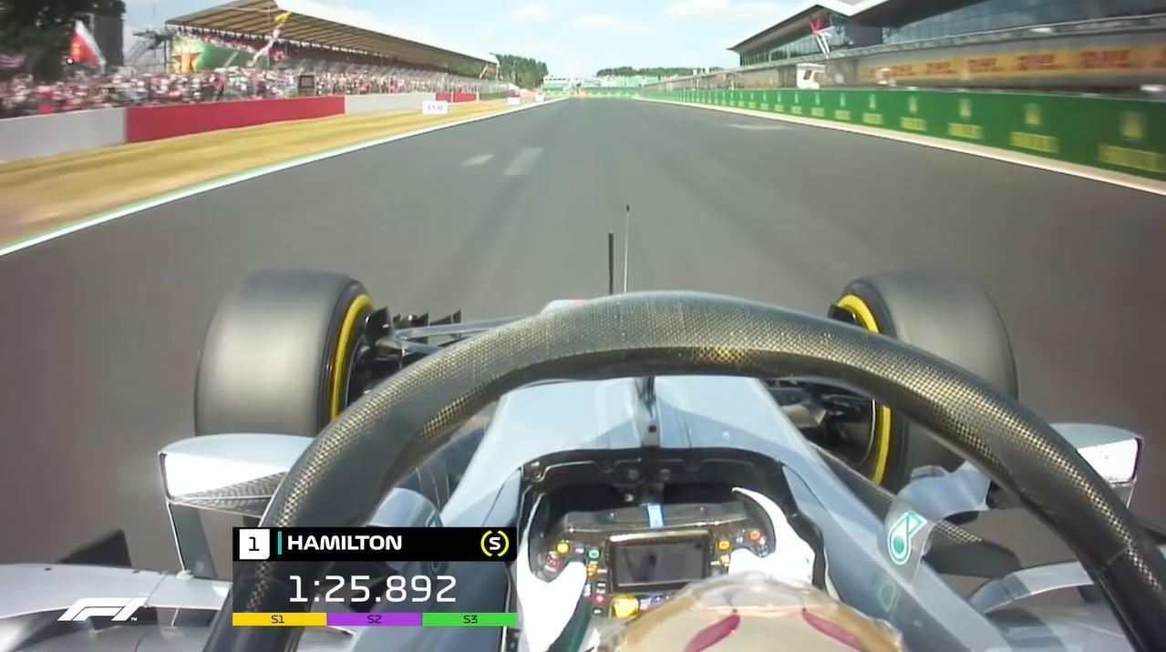 Formule 1 Silverstone Lap Record