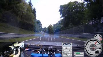 Koenigsegg's Test Driver Nordschleife BTG met een MX-5