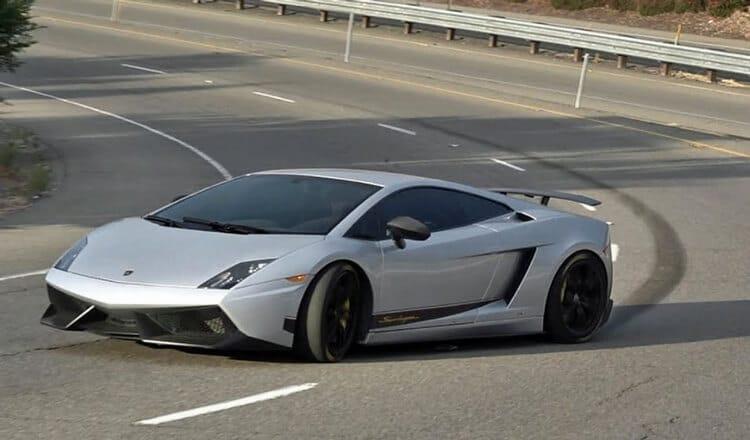 Lamborghini-Drift-afrit