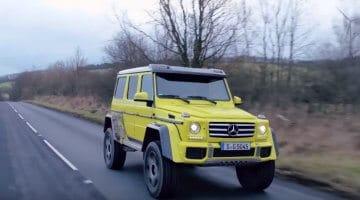Mercedes G500 4x4² de beste G-Wagon