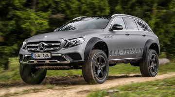 Mercedes E-klasse Estate All-Terrain 4x4²