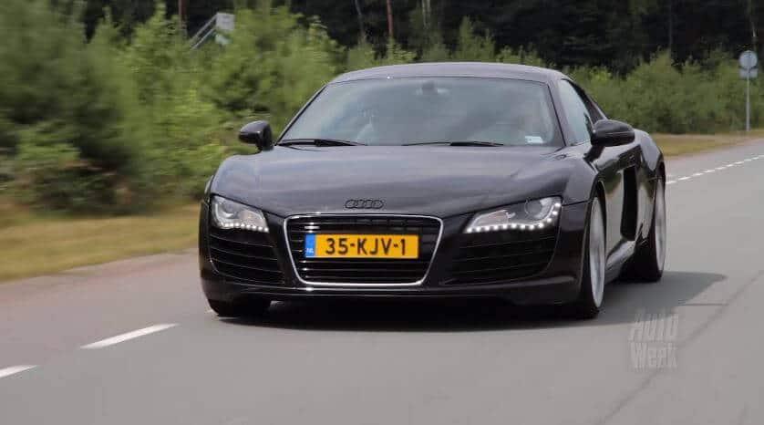 Audi R8 met 250.000 km
