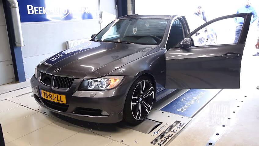 BMW 320d Rollenbank