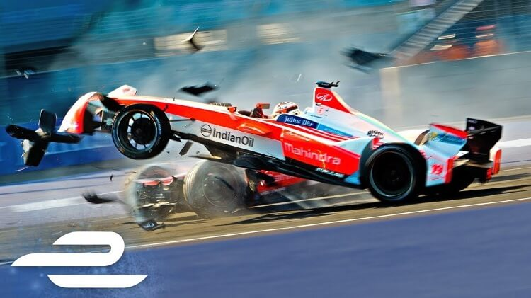 Formule E crashes of Season 3