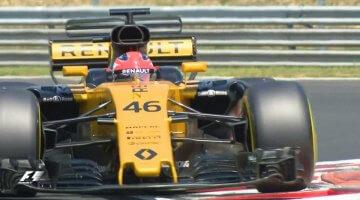 Kubica test Hongarije