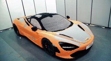 McLaren 720S van Lego