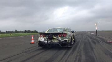 Nissan GT-R Spin