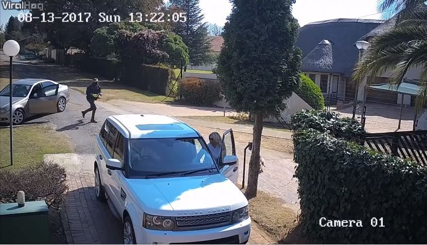 Range Rover Carjacking in Zuid-Afrika