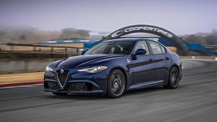 Alfa Romeo Giulia QV Hot Lap