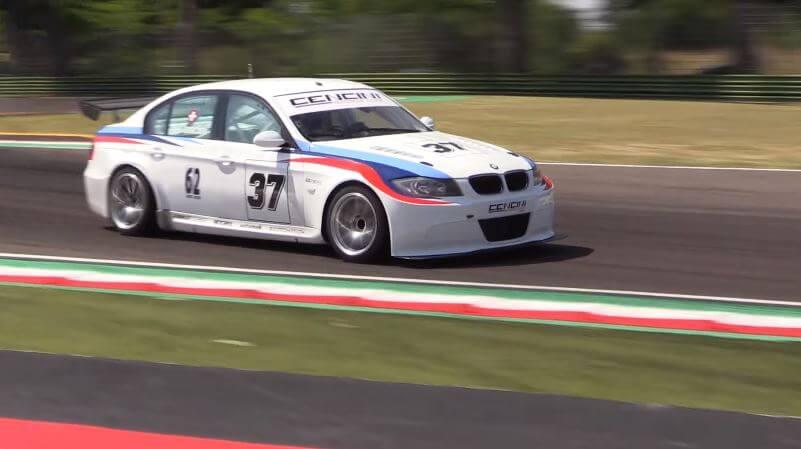 BMW E90 met E30 DTM-motor