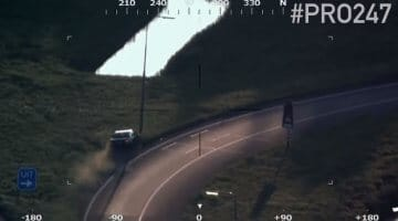 BMW over de kop op de A15