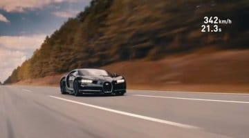 Bugatti Chiron 0-400 kmh