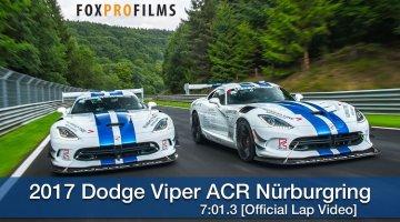 Dodge Viper ACR Nordschleife Lap