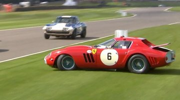 Ferrari 250 GTO Crash