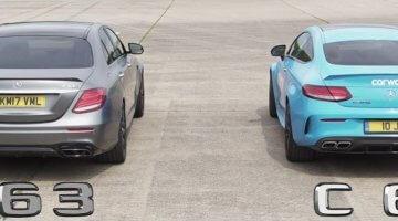 Mercedes-AMG E63 S vs Mercedes-AMG C63 S