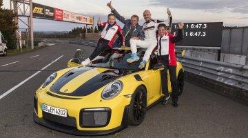 Porsche 911 GT2 RS Nordschleife Lap