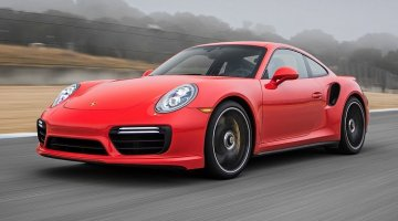 Porsche 911 Turbo S Hot Lap
