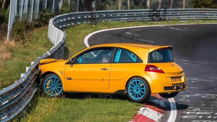 Renault Megane RS R26 Crash