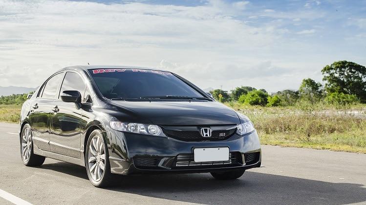 Honda Civic Si Black Bull