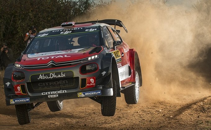 WRC Spanje Highlights