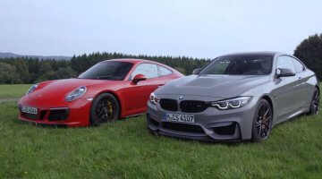 BMW M4 CS vs Porsche 991 GTS