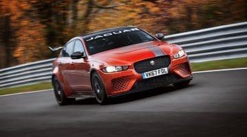 Jaguar-XE-SV-Project-8-Nordschleife-lap