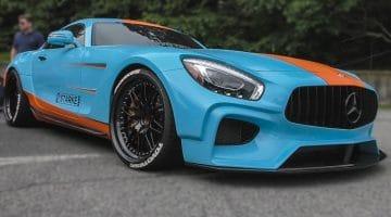 Widebody Mercedes-AMG GT RS