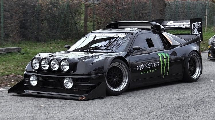 Ford RS200 Monza Rally Show