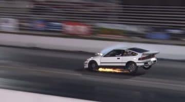 Honda CRX van 2 naar 1