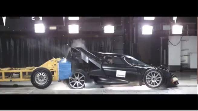Koenigsegg Regera Crashtest