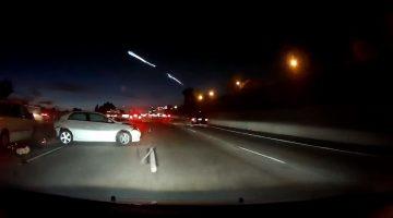 SpaceX Falcon 9 lancering veroorzaakt file en ongeluk in Californië