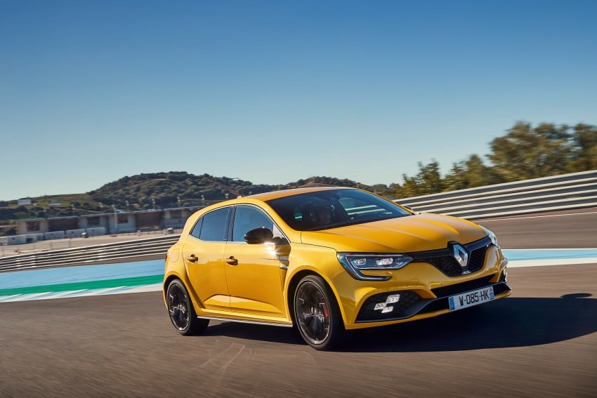 video onboard bij de 2018 renault megane rs op circuit jerez. Black Bedroom Furniture Sets. Home Design Ideas