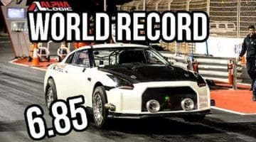 Alpha Logic Nissan GT-R Record