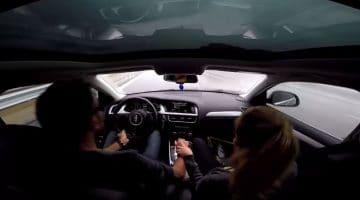 Audi A4 Allroad gered door hulpsystemen